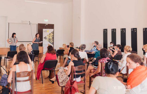 Voditeljice Filmske naSTAVe predstavljale programe Hrvatskog filmskog saveza na konferenciji European Film Factoryja